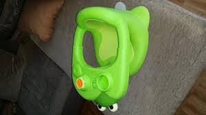 siege de bain smoby siège de bain cotoons de smoby vert 10 euros