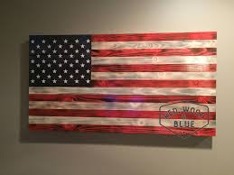 Valentine S Day Flags Wooden American Flag Wood American Flag American Flag Art