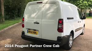 peugeot used car dealers 2014 peugeot partner crew cab for sale at mastervans youtube