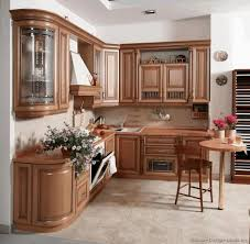 Microwave Inside Cabinet Kitchen With Wood Cabinets Teak Wood Flooring Creamy Laminate Wood