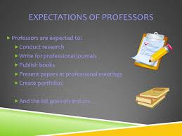 a few words about professors