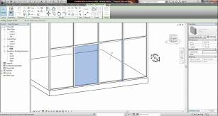 revit placing a door into a glass curtain wall tutorial youtube