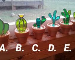 art glass cactus ring holder images Glass art etsy jpg