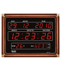 digital wall clocks buy digital wall clocks online at best prices