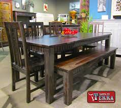 western dining room tables dining santa fe terra western furniture