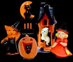 Vintage Halloween Decorations Vintage Halloween Gurley Candles