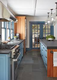 search viewer hgtv photo by jared kuzia photography photo by shirry dolgin shop this look custom navy blue kitchen cabinets