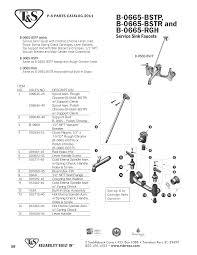 t u0026s brass b 0665 bstr replacement parts