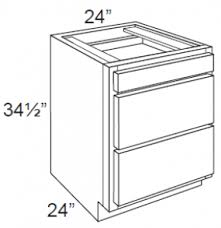 3 drawer kitchen cabinet arctic white shaker 24 3 drawer base cabinet arctic white shaker
