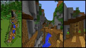 how to make a minecraft ravine town youtube