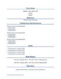 Achievements In Resume Sample by Best 25 Free Cv Builder Ideas On Pinterest Resume Builder