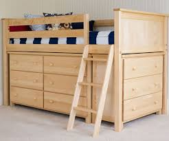 jackpot natural finish low loft bed with dressers  jackpot kids  with jackpot kids furniture low loft bed with dressers for children in natural  finish from ekidsroomscom
