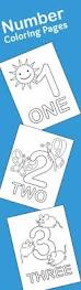 21 free printable number coloring pages learning