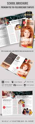 tri fold school brochure template school premium tri fold psd brochure template by elegantflyer