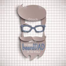 coupe papier design heureuse fête des pères carte design pour événement mâle bannière