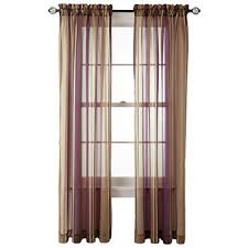 Jcpenney Purple Curtains Purple Sheer Curtains For Window Jcpenney