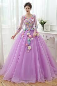 light purple long dress 100 real luxury light blue light purple long sleeve medieval dress