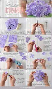 floral tissue paper diy tissue paper hydrangea crafted to bloom handcrafted paper