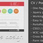 free resume website template resume template website free download