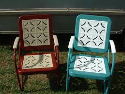 Lawn Chair With Table Attached Best 25 Vintage Patio Furniture Ideas On Pinterest Vintage