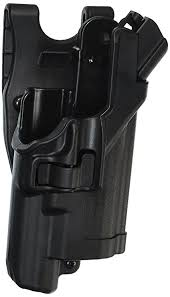 duty holsters with light amazon com blackhawk serpa level 3 light bearing duty holster