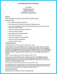 Internal Auditor Resume Sample by Audit Associate Resume Free Resume Example And Writing Download