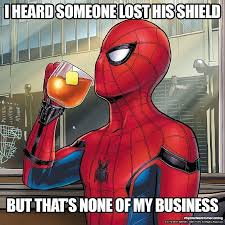 Spider Man Meme - offical spider man homecoming memes to promote the film spider man