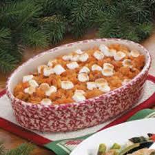 sweet potato pineapple bake recipe taste of home