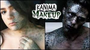 Halloween Werewolf Makeup Kanima Inspired Makeup Teen Wolf Lizard Youtube