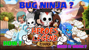 tutorial hack ninja heroes how to bug ninja donate in ninja heroes heroes legend ninja