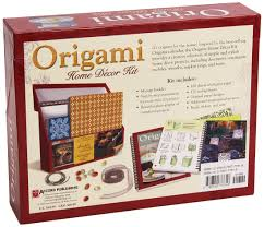 origami home decor kit jeff cole peggy kelly 9780740777318