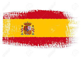 Andorra Flag Brushstroke Flag Spain Royalty Free Cliparts Vectors And Stock