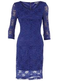 alice u0026 you royal blue lace dress dorothy perkins