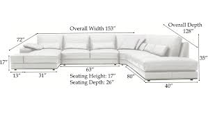 sectional sofa with chaise dimensions centerfieldbar com
