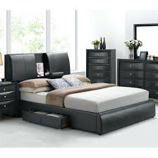 King Size Headboard With Storage Bed With Headboard Storage Acme Black King Storage Bed Headboard