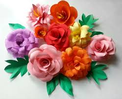 paper flowers diy paper flowers folding tricks