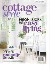 cottage style magazine cottage living magazine ebay