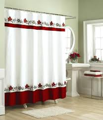 Croscill Fairfax Shower Curtain by Red And Black Shower Curtain Set Black Red Gray Shower Curtain