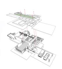 house perspective with floor plan gallery of the pacific house wang pe jen architects 24