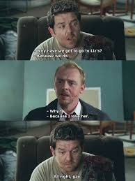 Shaun Of The Dead Meme - alright gay