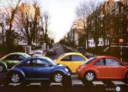 black volkswagen bug print advert by the beetles ads of the world