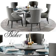 baker katoucha table and marat chairs