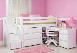 kids loft bed with desk study environments for small spaces with kids loft bed with desk