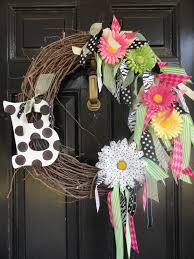springtime wreaths bright and fun and incredibly easy springtime wreath wreaths