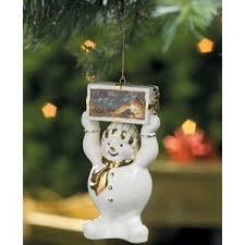 snowman figurine ornaments you ll wayfair
