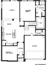 Cannon House Office Building Floor Plan by Woodrose Home Plan By Bloomfield Homes In All Bloomfield Plans
