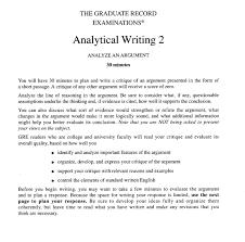 Well Written Essay Examples Sample Gre Argument Essays Docoments Ojazlink