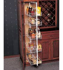 Extra Kitchen Storage Furniture Pantry Roll Out Storage System In Pull Out Pantry Organizers