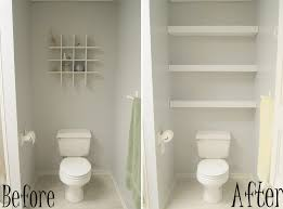 bathroom over the toilet storage ideas floating shelves above