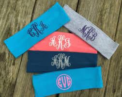 monogram headband monogram headbands tie dye